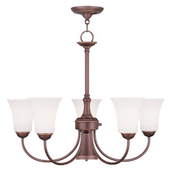 Ridgedale Collection 5+1-Light 26