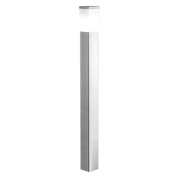 Stainless Steel Calgary Single-Light Outdoor Path Light