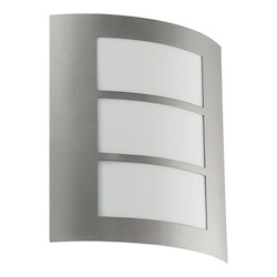 Anthracite City Single-Bulb Outdoor Sconce