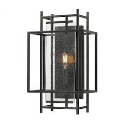 Intersections Collection 1 Light Sconce In Oil Rubbed Bronze - ELK Lighting 14200/1