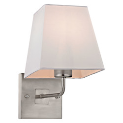 Beverly Collection 1 Light Sconce In Brushed Nickel - ELK Lighting 17152/1