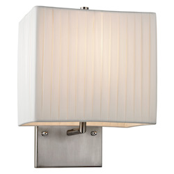 Hayden Collection 1 Light Led Sconce In Brushed Nickel - ELK Lighting 17156/1-LED