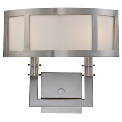 Two Light Satin Nickel Wall Light - ELK Lighting 20151/2