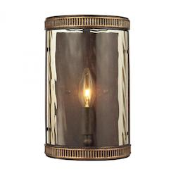 Mooreland Collection 1 Light Sconce In Weathered Bronze - ELK Lighting 31405/1