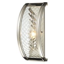 Chandler Collection 1 Light Sconce In Polished Nickel - ELK Lighting 31460/1