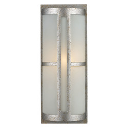 One Light Sunset Silver Outdoor Wall Light - ELK Lighting 42095/1-LED