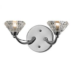 Hawthorne Collection 2 Light Bath In Polished Chrome - ELK Lighting 46146/2