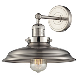 Newberry Collection 1 Light Sconce In Satin Nickel - 136036