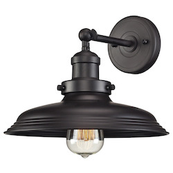 Newberry Collection 1 Light Sconce In Oil Rubbed Bronze - 136040