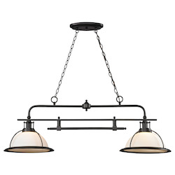 Wilmington 2 Light Kitchen Island/Billiard Pendant - ELK Lighting 55046/2-LED
