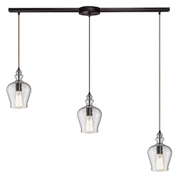 Menlow Park - Three Light Chandelier - ELK Lighting 60066-3L