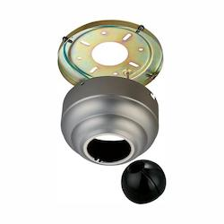Monte Carlo Fan Series Brushed Pewter Sloped Ceiling Adaptor MC95BP