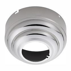 Monte Carlo Fan Series Polished Nickel Sloped Ceiling Adaptor MC95PN