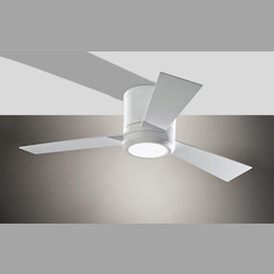 Monte Carlo Thirty Six Light White Hugger Ceiling Fan - 3CLYR42RZWD