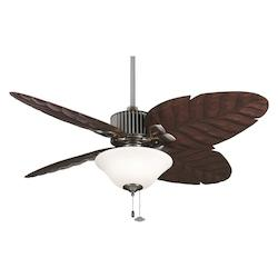 Pewter Fan Light Kit