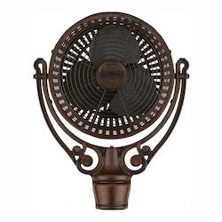 Old Havana Pedestal Fan Motor Assembly Rust