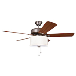 Ellington Fan Silk Shade Light Kit - LKE227BRC