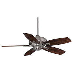 Brushed Pewter Ceiling Fan - Savoy House 42-830-5RV-187