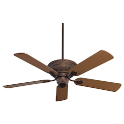 New Tortoise Shell Ceiling Fan - Savoy House 52-850-5RV-56