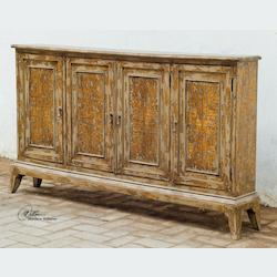 Distressed Wood Maguire 36 X 69 Cabinet - 150006