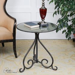 Poloa Mirrored Accent Table - 150023