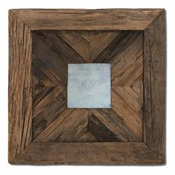 Rennick Reflections Wood Mirror - 150121