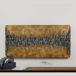 Dimensional City View Wall Art - 150150