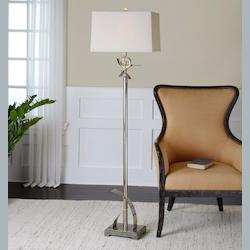 Curved Metal Floor Lamp - 150172