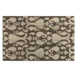 Brown / Tan 5 x 8 Sepino Low Cut Wool Rug
