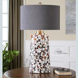 Berzano Mosaic Table Lamp - 150331