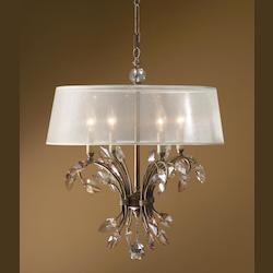 Burnished Gold Alenya 4 Lt  Chandelier