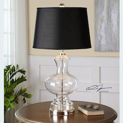 Polished Nickel Paulinus 1 Light Table Lamp