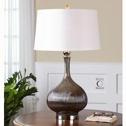 Irpina Rust Charcoal Table Lamp - 150604