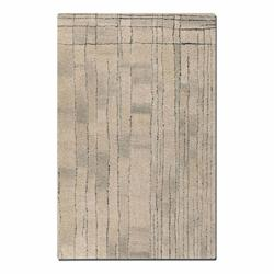 Tangier Collection 8' x 10' Beige/Khaki Wool Rug 73002-8