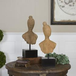 Arlie Wooden Sculptures S/2 - 150646