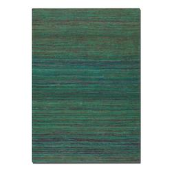 Nivi Collection 5' x 8' Blue/Green/Orange/Red Viscose Rug 71003-5