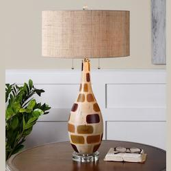 Godric Patchwork Table Lamp - 150719