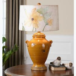 Amarillo Ceramic Table Lamp - 150730