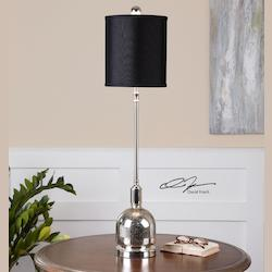 Brusson Polished Nickel Buffet Lamp - 150742
