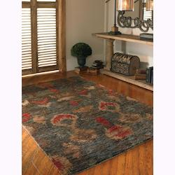 Aged Charcoal 6 x 9 Java Hand Knotted Jute Rug