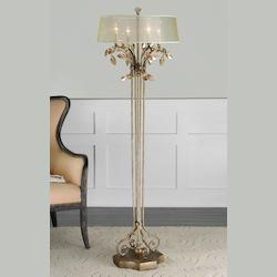 Burnished Gold Alenya Floor Lamp