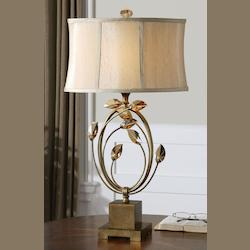 Burnished Gold Alenya Lamp