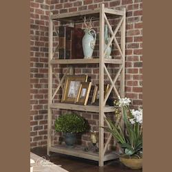 Natural Wood Stratford Etagere