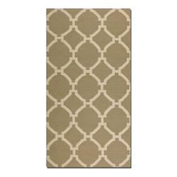 Bermuda Collection 8' x 10' Khaki Wool Rug 71018-8