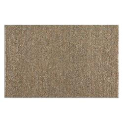 Beige / Gray 5 x 8 Tufara Hand Woven Leather Rug