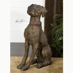 Big Rusty Collection Distressed Statue 20942