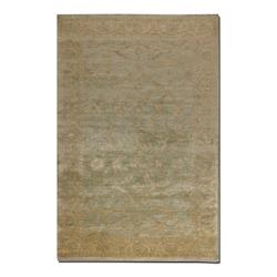 Anna Maria Collection 10' x 14' Blue/Gold/Ivory Wool Rug 70008-10