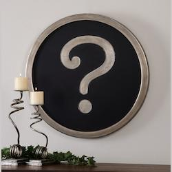 Question Mark Wall Art - 151259