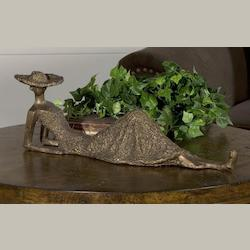 Antique Bronze Summer Days Sculpture