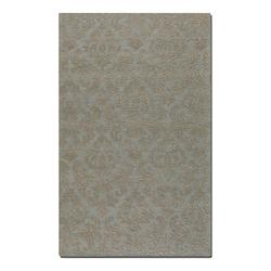 Light Blue 5 x 8 St. Hand Tufted Wool Rug